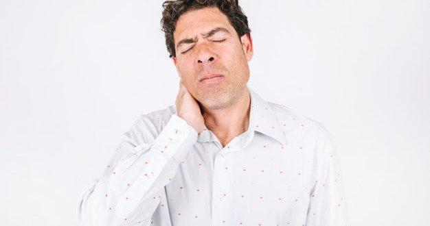 Chás para dor no pescoço